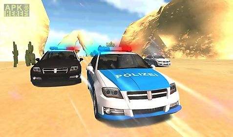 cops chase racing