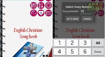 English christian song book