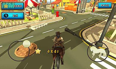 horse simulator: cowboy rider