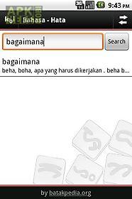 kamus batak-indonesia
