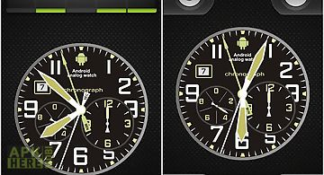 Analog clock aw plus-7 for Android free download at Apk Here store