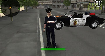 Crazy police parking 3d