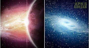 Galaxy atom theme