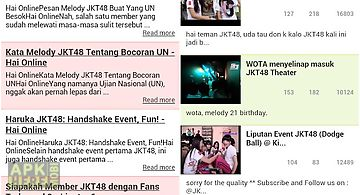 Jkt48 news and video