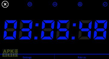 Night display(alarm clock)
