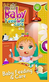 baby feed & baby care