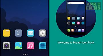 M theme - breath icon pack