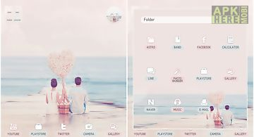 My hero dodol launcher theme