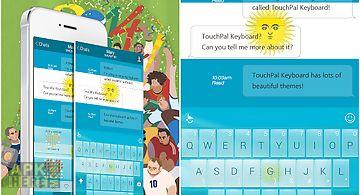 Touchpal go argentina theme