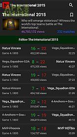 trackdota - live dota esports