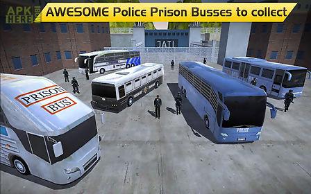 hill climb prison police bus