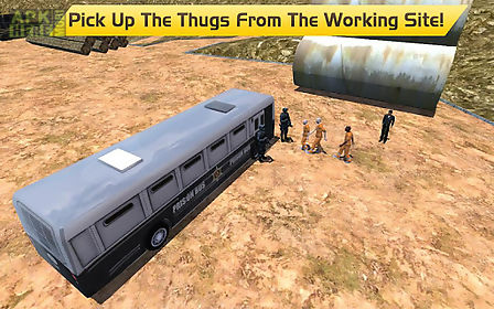 Hill climb prison police bus for Android free download at Apk Here