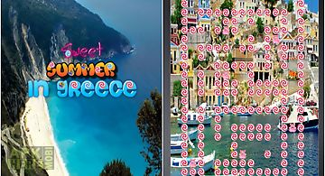Sweet candy summer in greece cas..