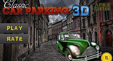 Classic car parking 3d light