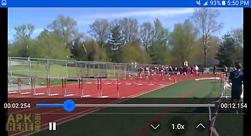 Slow motion video zoom player for Android free download at