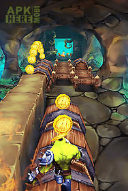 super monster temple dash 3d