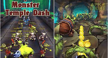 Super monster temple dash 3d