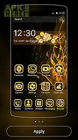 theme luxury gold rose