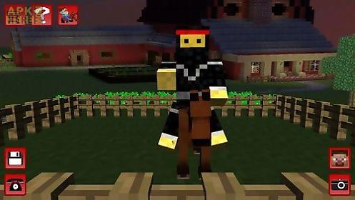horse craft: minecraft runner