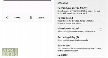 Screen recorder master