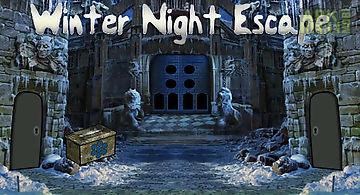 Winter night: escape