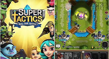 Super tactics: real time battle