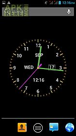 Analog clock wallpaper for Android free download at Apk Here