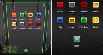 Colorbox next launcher theme