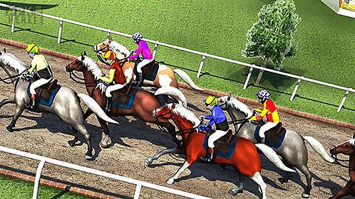horse drag race 2017