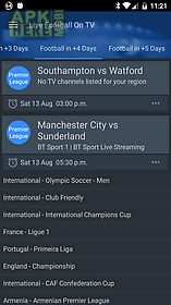 Live football on tv (lite) for Android free download at Apk