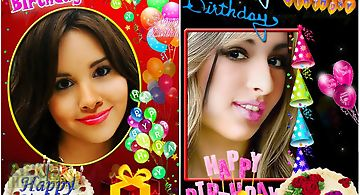 Make birthday cards with photo