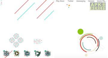 Simple graphic atom theme