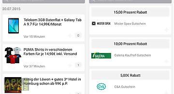 Dealbunny.de schnäppchen app