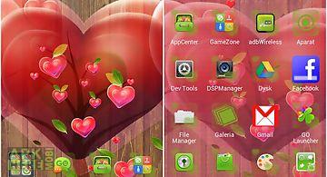 Fabulous hearts launcher theme