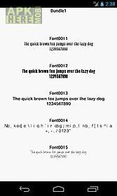 fonts for flipfont 1