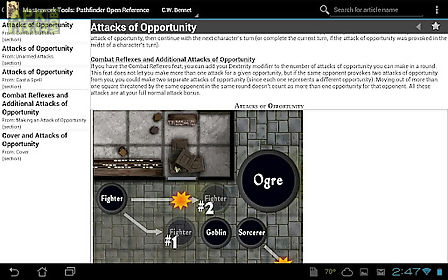 pathfinder open reference