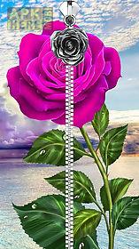 rose lock screen.