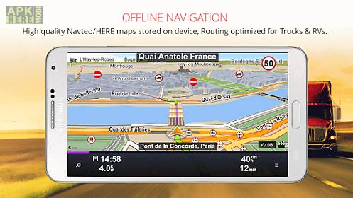 Sygic truck gps navigation for Android free download at Apk Here