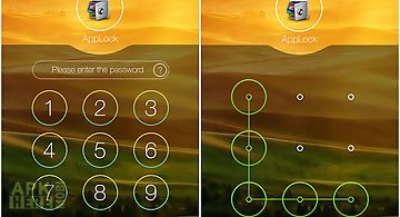 Applock theme hill