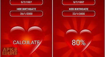 Birthdate love calculator