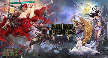 Destiny of thrones