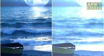 Midnight ocean wallpaper
