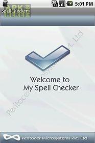 my spell checker