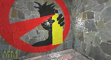 Spray the wall 3d