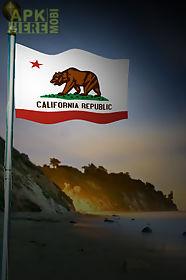 California Flag Live Wallpaper