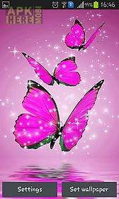 Pink butterfly live wallpaper for android free download at apk here pink butterfly live wallpaper altavistaventures Images