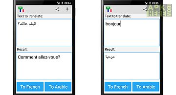Arabic french translator
