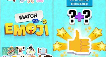 Match the emoji: combine and dis..