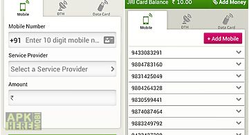 Mobile, dth, datacard recharge