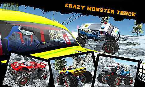 snow racing: monster truck 17. snow truck: rally racing 3d